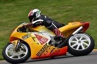 Ralf Waldmann auf der Honda in HB-Design