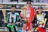 Die Top-3 von Daugavpils: Patryk Dudek, Piotr Pawlicki und Maciej Janowski