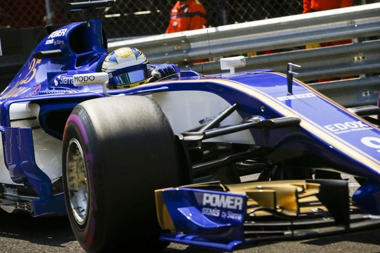 Motorsport: Grünes Licht für Formel-1-Pilot Wehrlein nach Monaco-Crash