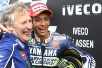 Assen-GP 2013: Sieger Rossi mit seinem treuen Crew-Chief Jeremy Burgess