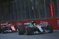 Sebastian Vettel krachte Hamilton ins Heck und sagte hinterher: «Wir sind ja nicht im Kindergarten!»