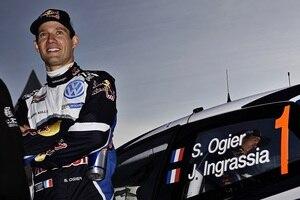 Der neue vierfache Weltmeister Sébastien Ogier