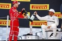 Vettel und Hamilton in Spanien: Handbemalte Etiketten