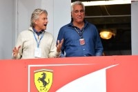 Lawrence Stroll beim Monaco-GP mit Hollywood-Star Michael Douglas
