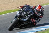 Superbike-Weltmeister Jonathan Rea beim Jerez-Test auf seiner Kawasaki