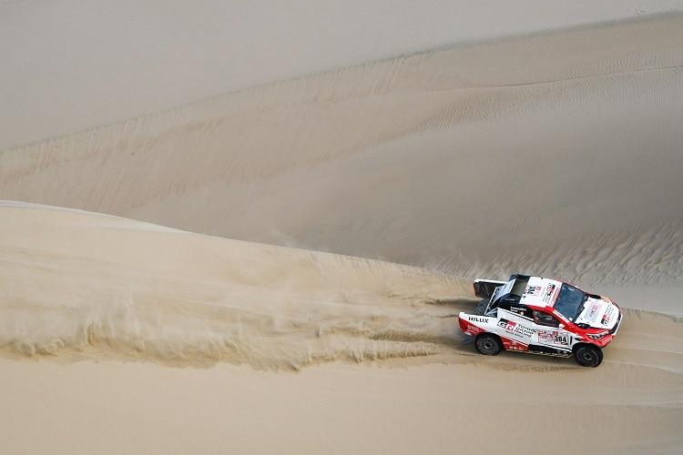Prominente Ausfälle bei der Rallye Dakar