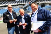 Abserviert: Rüdiger Merdes, Emil Braun und Kai Homes