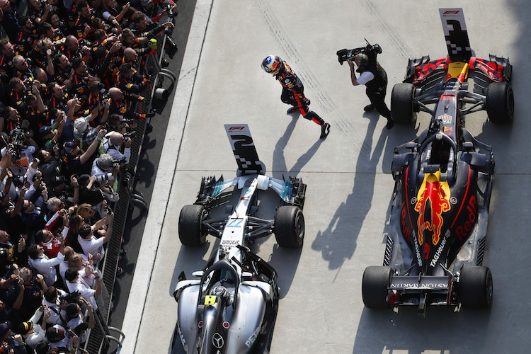 Formel 1 2019 mit mehr Action dank mehr Benzin — Nach FIA-Beschluss