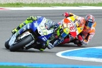 Rossi hat soeben Márquez überholt