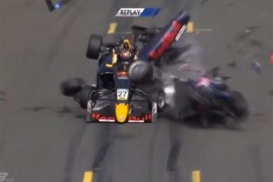 Der kuriose Crash in der Formel 3