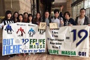 Felipe Massa hat eine weltweite, treue Fangemeinde
