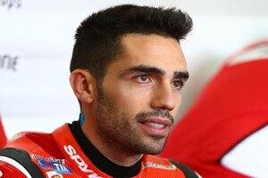 Ducati-Testfahrer Michele Pirro