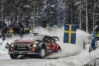 Craig Breen steuerte in Schweden erslmals den C3 WRC