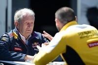 Dr. Helmut Marko mit Cyril Abiteboul, dem Geschäftsleiter von Renault Sport F1