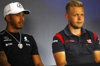 Lewis Hamilton und Kevin Magnussen
