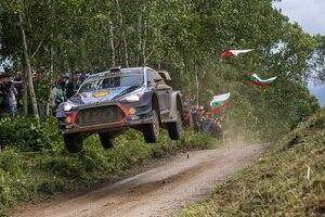 Thierry Neuville will auch in Finnland zum Sieg springen