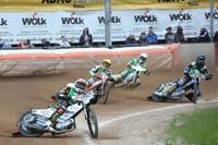 Martin Smolinski (vorne) fuhr in Teterow ins Finale