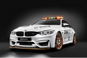 BMW M4 GTS 2016 als Safety Car in der DTM