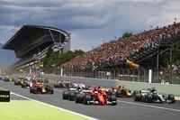 Start zum Spanien-GP –leider nur mit 20 Autos