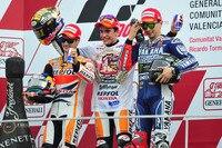 Valencia-GP 2013: Pedrosa, Weltmeister Márquez und Lorenzo