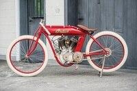 Indian Boardtrack-Racer von 1919: Puristische Rennmaschine, nicht mal ein Getriebe ist dran