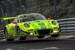 Fliegt der Porsche 911 GT3 R am Wochenende auf die oberste Stufe des Podiums?