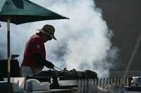 Einmalig: Das ganze Fahrerlager roch nach Barbecue