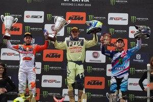 Tim Gajser gewann nach furioser Aufholjagd den Großen Preis von Lettland