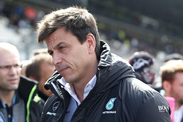 Mercedes-Motorsportdirektor Toto Wolff