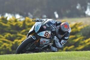 Jordi Torres fuhr nur ein Rennen auf Phillip Island