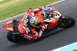 Chaz Davies (Ducati) fuhr Bestzeit