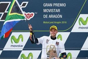 Brad Binder sicherte den Moto3-Titel bereits beim Aragón-GP