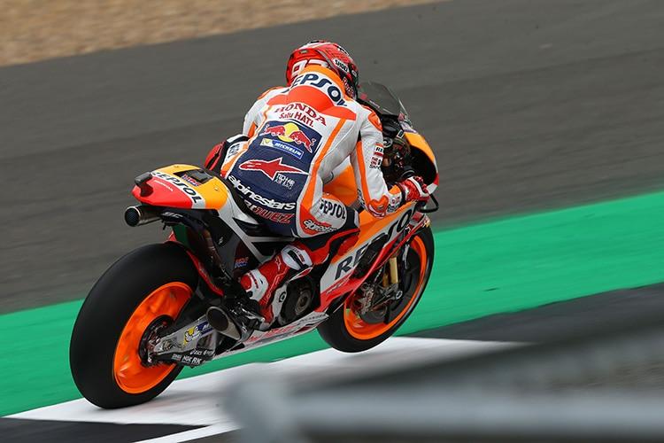 MotoGP: Heftiger Abflug von Folger in Silverstone