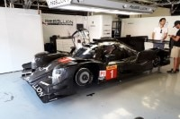 Der Rebellion R13 beim Prologue der WEC in Barcelona