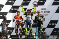 Auch auf dem Sachsenring Grund zur Freude für Valentino Rossi?