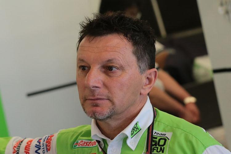 <b>Fausto Gresini</b> muss zurzeit leiden - 90f434256663454b9e01b80b7167fa10