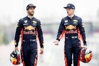Daniel Ricciardo und Max Verstappen