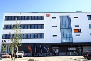 Das neue KTM-Entwicklungszentrums in Rosenheim