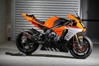 Die Yamaha YZF-R1 steht für den ersten Test bereit