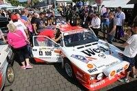 Treffpunkt der Fans - die Rallye-Meile in Daun