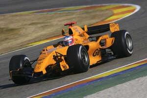 Zuletzt war McLaren 2006 in Orange unterwegs