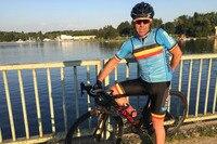 Begeisterter Rennradfahrer: Chris Richardson
