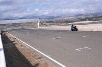 Folger beim Training mit der Yamaha YZF-R 1 auf dem Circuit de Almeria