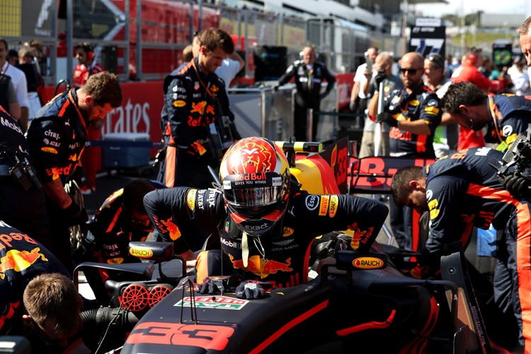 Verstappen verlängert Vertrag bei Red Bull bis 2020