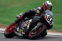 Brian Morrison gewann 1997 einen Lauf auf dem Sachsenring