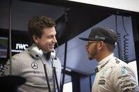 Toto Wolff und Lewis Hamilton