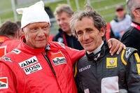 Alain Prost und Niki Lauda