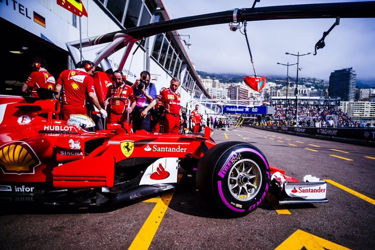 Motorsport Formel 1 Training Monaco: Vettel dreht schnellste Trainingsrunde in Monaco