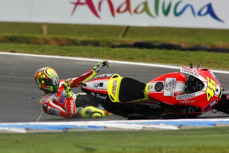 unfall rossi