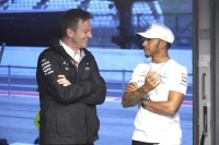 James Allison mit Lewis Hamilton